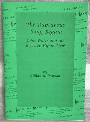 The Rapturous Song Began