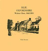 Islip, Oxfordshire Written Clues, 1662-1851