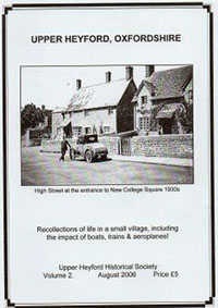 Upper Heyford, Recollections of Life in a Small Village: 2