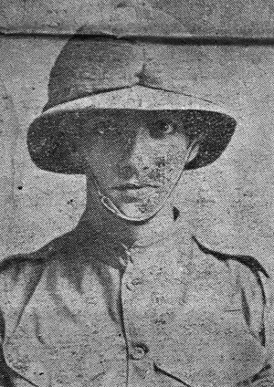 Lance Corporal Alldridge