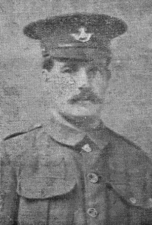Company Sergeant Major Harris